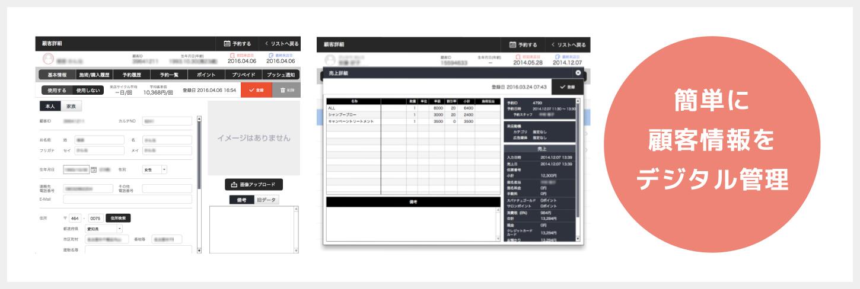 顧客デジタル管理